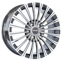 Диск 6.5x16 5x112 ET38.0 D73 Mi-tech MK-F40SДиски литые<br><br>