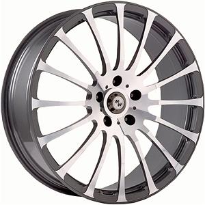 Диск 10x22 5x130 ET55.0 D71.6 MK Wheels MK-VI AvantgardeДиски литые<br><br>