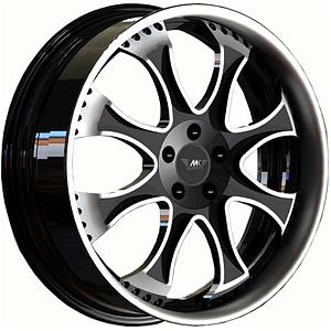 Диск 9.5x22 5x130 ET40.0 D71.6 MK Wheels MK-XLIV StatusДиски кованые<br><br>