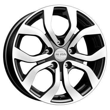Диск 6.5x16 5x114.3 ET45.0 D60.1 КиК КС704 (ZV 16_Lifan X60)Диски литые<br><br>