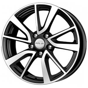 Диск 7x17 5x112 ET46.0 D66.6 КиК КС699 (ZV Audi A4)Диски литые<br><br>