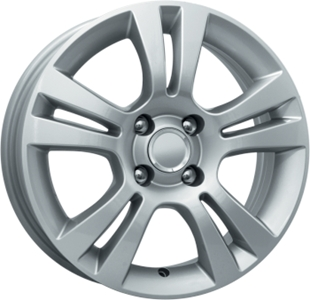 Диск 6x15 4x100 ET40.0 D60.1 КиК КС445 (ZV Logan II)Диски литые<br><br>