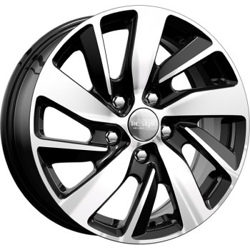 Диск 6.5x16 5x112 ET50.0 D57.1 КиК КС741 (ZV Golf)Диски литые<br><br>