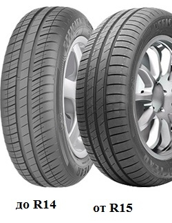 Летняя шина 175/65 R15 84T Goodyear Efficientgrip CompactЛетние шины<br>Летняя резина Goodyear Efficientgrip Compact 175/65 R15 84T<br>