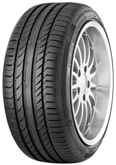 Летняя шина 225/40 R18 92W RunFlat Continental ContiSportContact 5