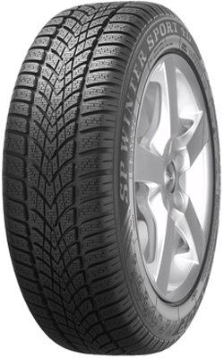 Зимняя шина 245/40 R18 97H Dunlop SP Winter Sport 4DЗимние шины<br>Зимняя резина без шипов (липучка) Dunlop SP Winter Sport 4D 245/40 R18 97H XL<br>