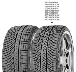 Зимняя шина 245/35 R20 95W Michelin Pilot Alpin 4Зимние шины<br>Зимняя резина без шипов (липучка) Michelin Pilot Alpin 4 245/35 R20 95W XL<br>