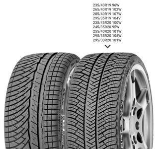 Зимняя шина 235/45 R17 97V Michelin Pilot Alpin 4Зимние шины<br>Зимняя резина без шипов (липучка) Michelin Pilot Alpin 4 235/45 R17 97V XL<br>