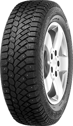 Зимняя шина 225/55 R17 101T шип Gislaved Nord Frost 200Зимние шины<br>Зимняя резина с шипами Gislaved Nord Frost 200 225/55 R17 101T шип XL<br>