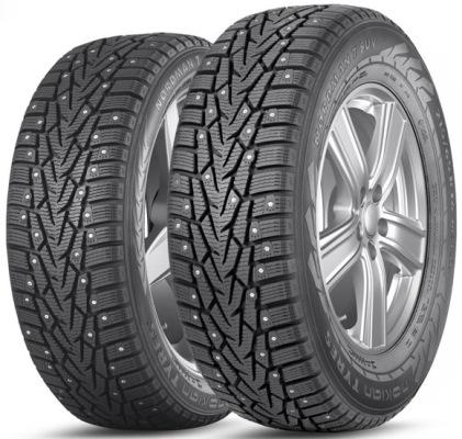 Зимняя шина 235/65 R17 108T шип Nokian Nordman 7 SUVЗимние шины<br>Зимняя резина с шипами Nokian Nordman 7 SUV 235/65 R17 108T шип XL<br>