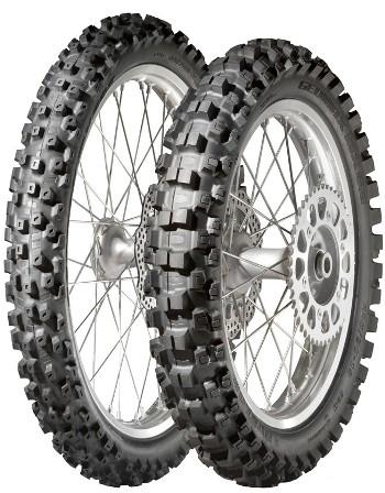 Летняя мотошина 110/90 R19 62M Dunlop Geomax MX52
