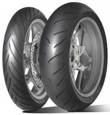 Летняя мотошина 190/55 R17 75W Dunlop Sportmax Roadsport 2
