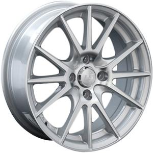 Литой диск LS Wheels 143 6.5x15 5x100 ET38.0 D57.1 BK(FRL)