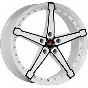 Литой диск YOKATTA MODEL 10 6x15 4x100 ET48.0 D54.1 W+B