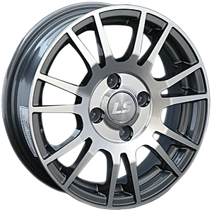 Литой диск LS Wheels 307 6x15 5x100 ET11.0 D57.1