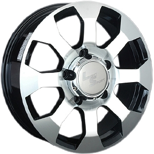 Литой диск LS Wheels 325 8x17 5x150 ET60.0 D110.1 GMF
