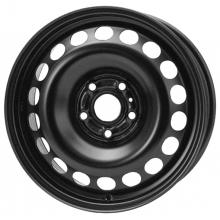 Штампованный диск Кременчуг Ford Focus II/C-Max 6x15 5x108 ET52.5 D63.3 черный