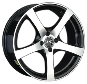 Литой диск LS Wheels 357 7x17 4x98 ET28.0 D58.6 BKF