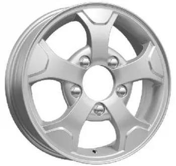 Литой диск КиК 4x4 (КС657 Нива-оригинал) 5x16 5x139.7 ET58.0 D98 сильвер